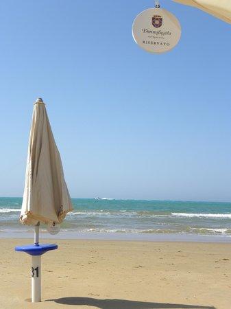 Donnafugata Golf Resort & Spa : Il posto riservato al Lido Azzurro