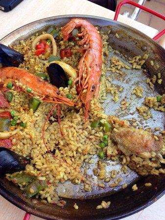 Meson El Cura : La paella est très bonne !
