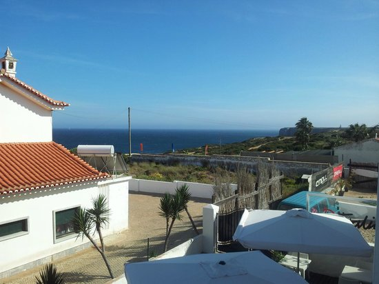 Mareta Beach Boutique Bed & Breakfast: Vista desde la terraza de la habitación.