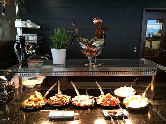 Bayside: Frühstück (ein Bereich)