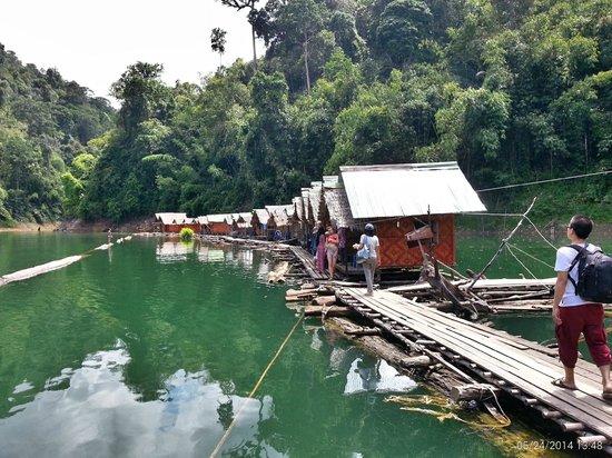 Chew Lang dam fishing - Picture of Cheow Lan Dam ...