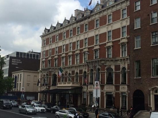 The Shelbourne Dublin, A Renaissance Hotel: Blick aufs Hotel