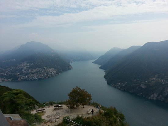 Monte San Salvatore: View from the top