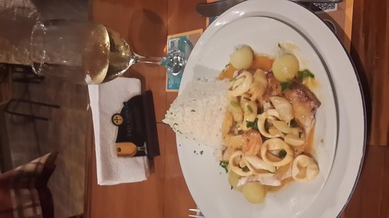 Costazul Seafood: морепродукты с рисом