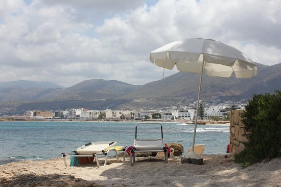 Hersonissos Maris Hotel and Suites : plage