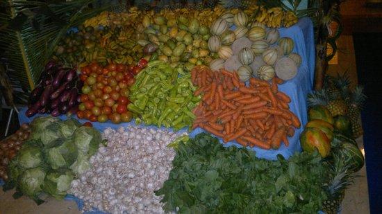 Iberostar Bavaro Suites : Овощное изобилие