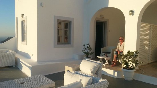 Iliovasilema Suites: from the balcony