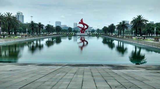 Dongguan Central Square: Dongguan Square main sculpture