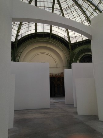Grand Palais : detail installatie