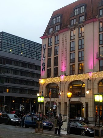 Hilton Berlin: Lovely at Christmas time!