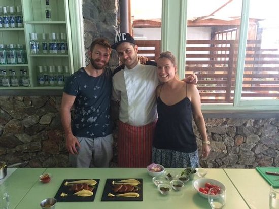Santorini Wine Adventure: With the brilliant chef