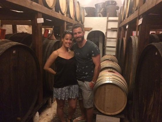 Santorini Wine Adventure: 2nd Winery