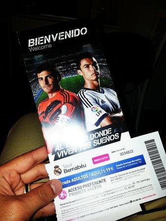 Stadio Santiago Bernabeu: stadium tour tickets