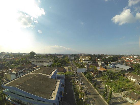 The Edelweiss Hotel Yogyakarta : view rooftop
