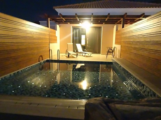 La Marquise Luxury Resort Complex: Prive Zwembad kamer adults only gedeelte