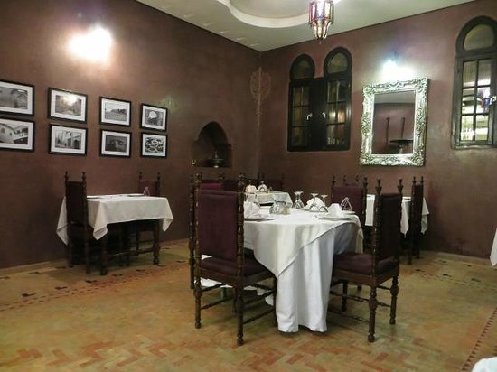 Riad Yacout : Restaurante