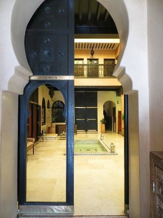 Riad Yacout : Entrada