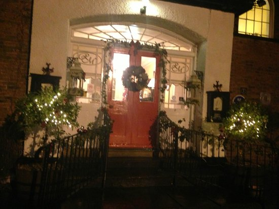 Rowley Manor Country House Hotel: festive welcome