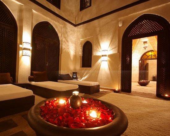 Les Bains de Marrakech : Relaxing area