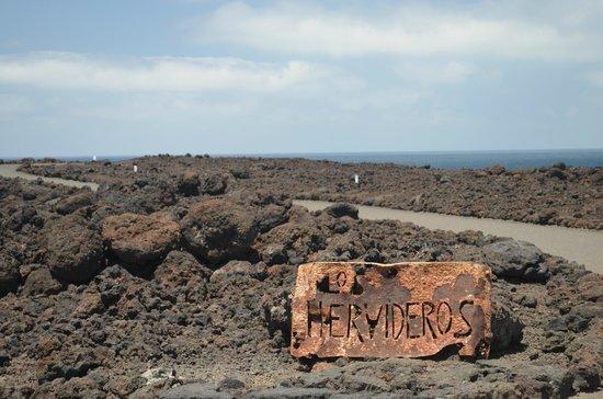 Acantilados de Los Hervideros: los hervideros