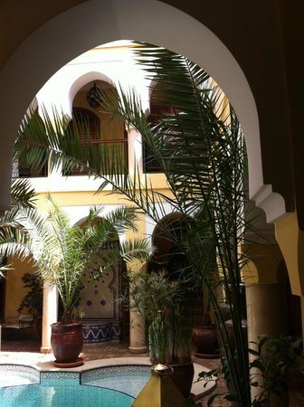 Riad Léna & SPA : hall