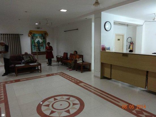 Kokila Dhiraj Dham: Reception lounge