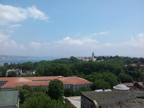 Agora Life Hotel : View from the roof, Topkapi
