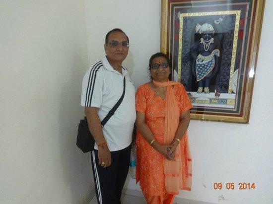 Kokila Dhiraj Dham: Waiting for lift