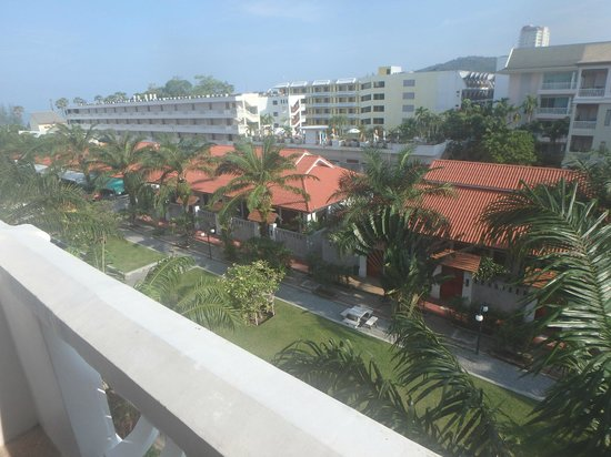 The Old Phuket: Room view - fourth floorq
