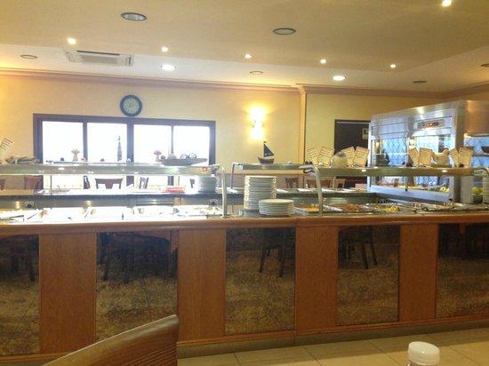 Las Rampas: Buffet Area