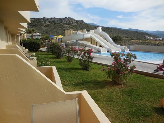 Smartline Vasia Village: sight of on terrace of the room
