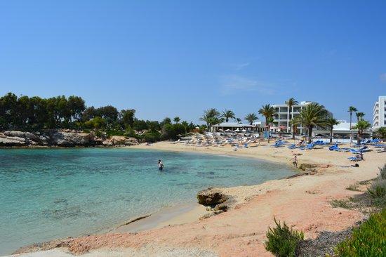 Adams Beach Hotel: Hotelstrand