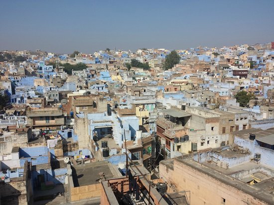 Singhvi's Haveli: view from the roof top