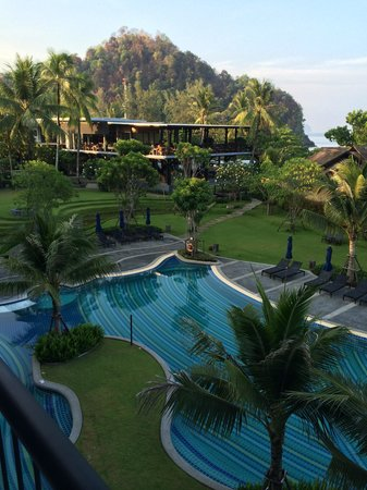 Holiday Inn Resort Krabi Ao Nang Beach : Uitzicht van balkon