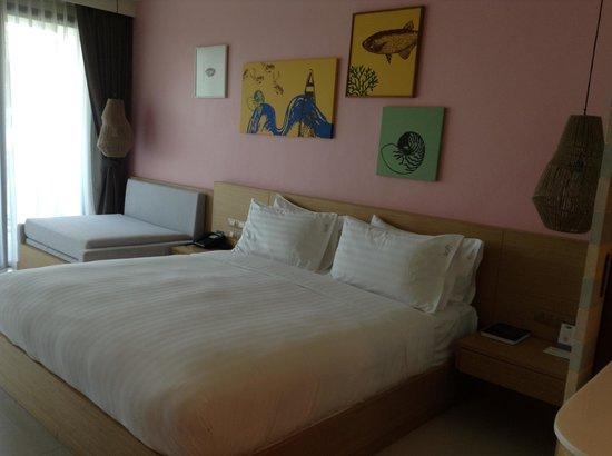 Holiday Inn Resort Krabi Ao Nang Beach: Bed in de kamer