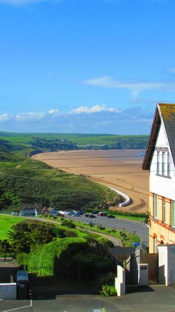 The Haven : Woolacombe Beach view