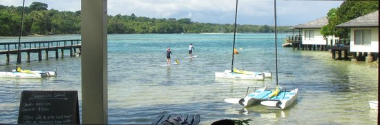 Warwick Le Lagon - Vanuatu: paddle boards, catamarans, kayaks for fun