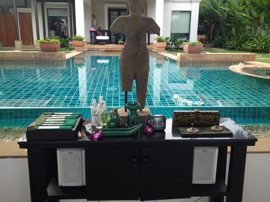 Banyan Tree Phuket : In-villa couples massage