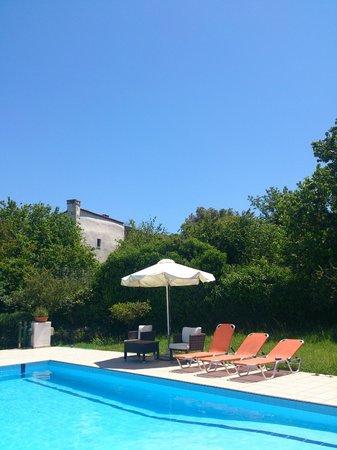 Abelos Villa: Private pool and garden
