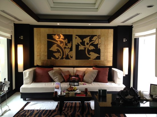 Banyan Tree Phuket: Our Lounge area in Villa