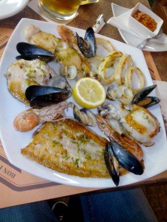 Restaurante El Abuelo: Parrillada
