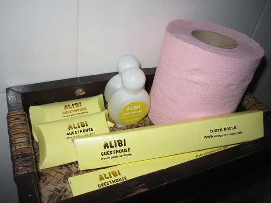 Alibi Guesthouse: Bathroom amenities