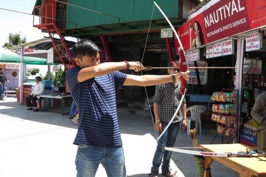 Gun Hill: Archery section