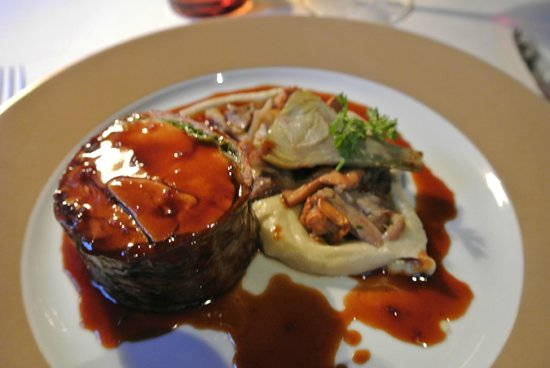 L'Auberge de l'Ill : this was something out of my imagination, foie gras with poultry roll