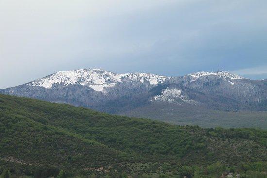 House Perisic: la vue sur les montagnes