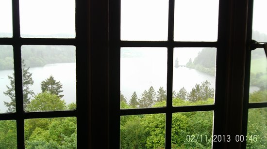 Lake Vyrnwy Hotel & Spa: View from our room