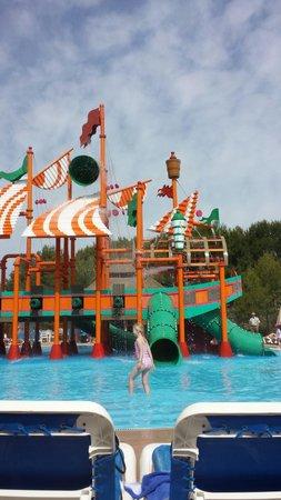Invisa Hotel Club Cala Verde : Pirate play area