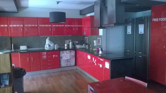 Valenciaflats Ciudad de las Ciencias: cucina comune