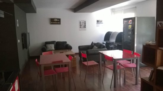 Valenciaflats Ciudad de las Ciencias: sala comune