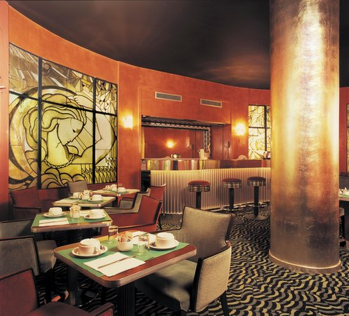 Best Western Hotel Mercedes Arc De Triomphe: Art Deco Bar / Breakfast Room